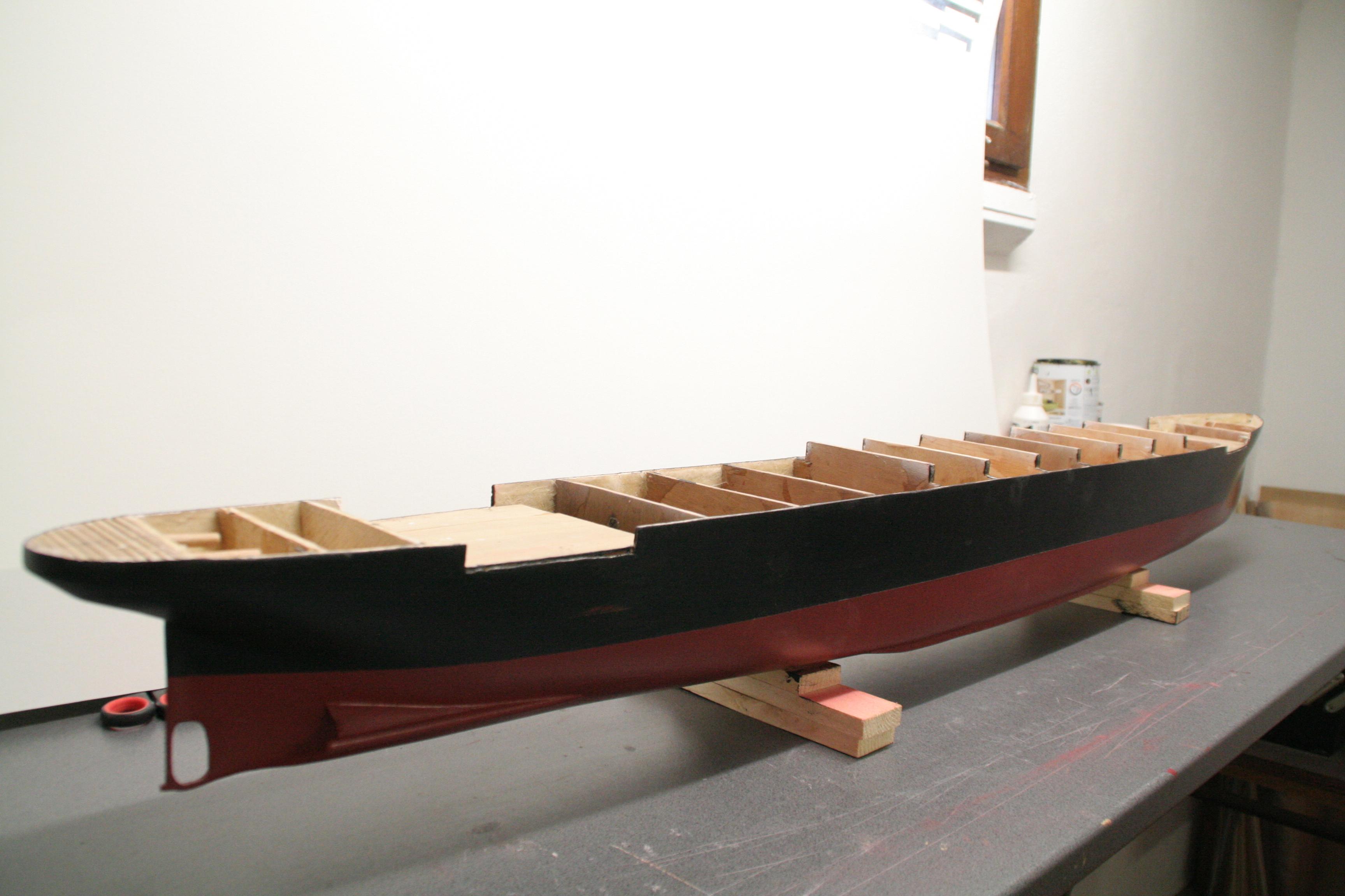RMS Titanic sur plan   au 1/200 8948472523