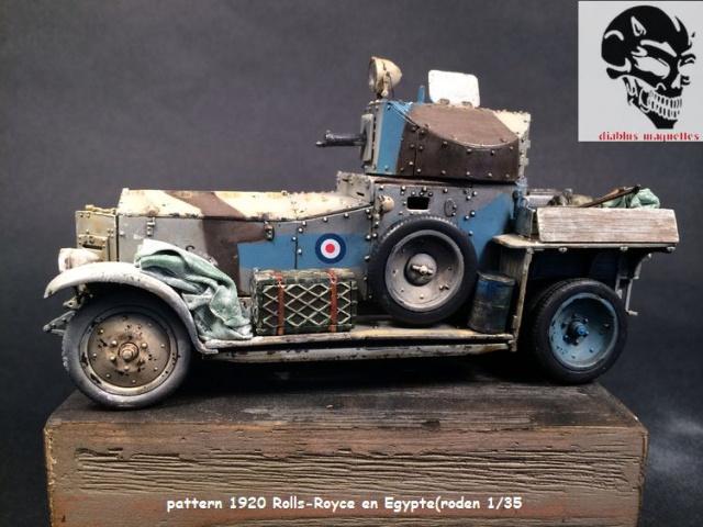 Pattern 1920 Rolls-Royce MK1 en Egypte - (Roden 1/35) 901856peinturePattern001