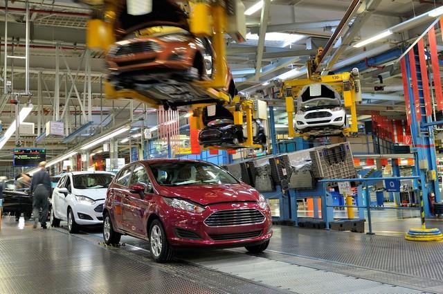 Ford Europe augmente la production des Fiesta, Focus, C-MAX et Grand C-MAX pour répondre à la demande 902349FiestaProduction01