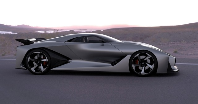 Le Nissan Concept 2020 Vision Gran Turismo Devient Réalité  90237912130615
