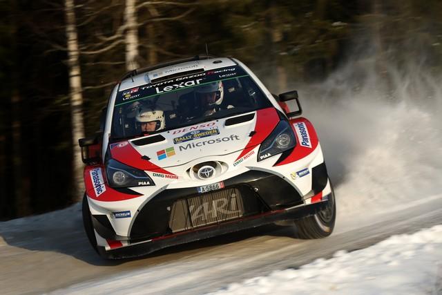 Jari-Matti Latvala Gagne En Suède Avec La Yaris WRC Et Prend La Tête Du Championnat Du Monde 902409JR20170021492