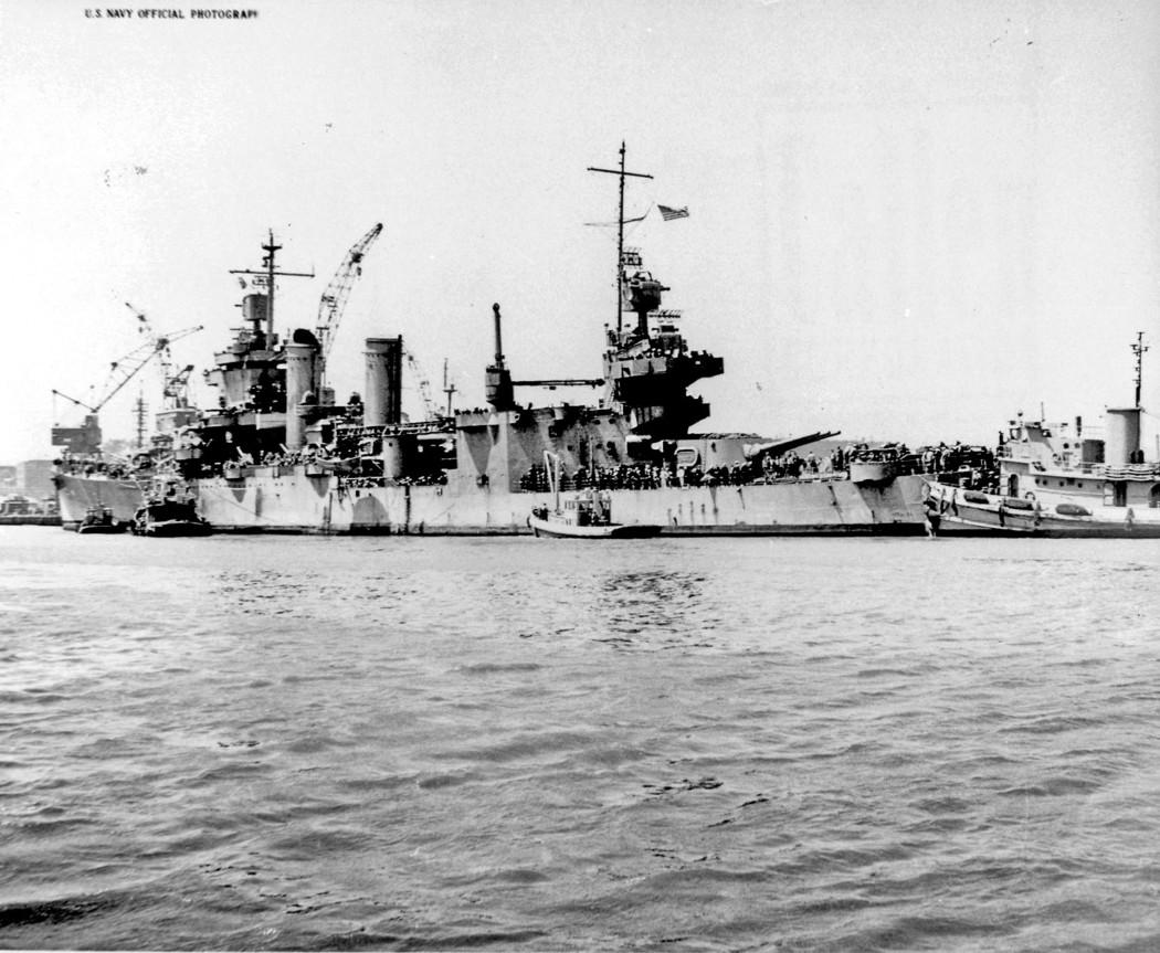 USN CROISEURS LOURDS CLASSE NEW ORLEANS  904634USS_San_Francisco_1944