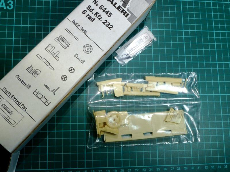 Sd.Kfz. 232 6 Rad - France 1940 - Italeri 1/35 906848P1030902