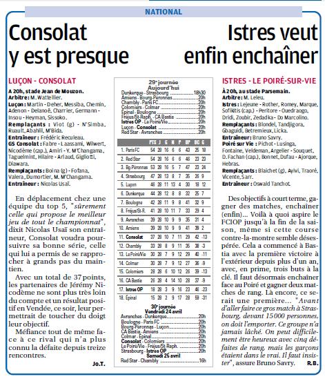 LE POIRE SUR VIE /NATIONAL  - Page 2 907525427