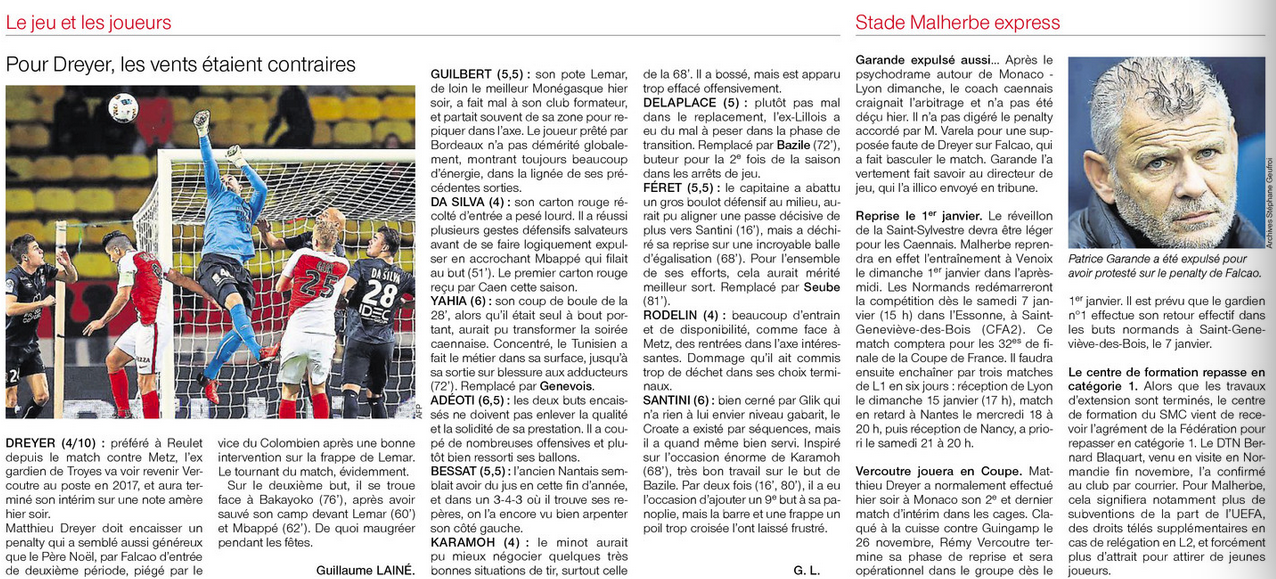 [19e journée de L1] AS Monaco 2-1 SM Caen  - Page 2 907928Notes