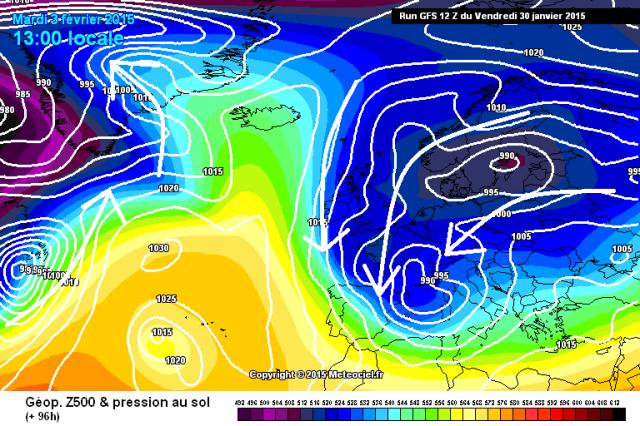 Important épisode hivernal marqué avéré, pour les 7 à 10 prochains jours (voir un peu plus) sur l'ensemble du pays. 908638gfs096