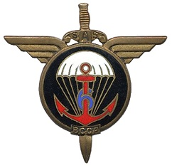 1è Classe Pierre FOUQUERANT 6è BPC MPLF 1954 à Dien Bien Phu 909095Insignedu6BCCP