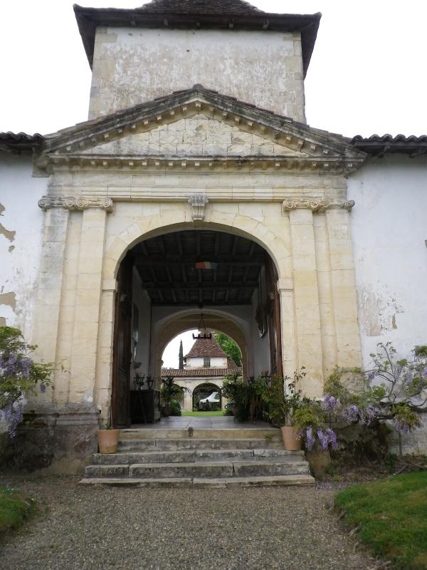 (40) Plantarium et chemin de ronde - Gaujacq 909297IMGP4504
