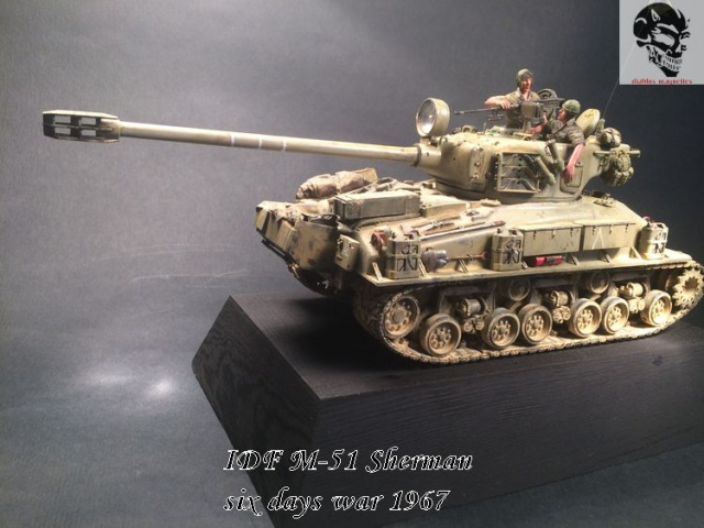 M-51 Super Sherman IDF - Academy 1/35 909303IMG4934