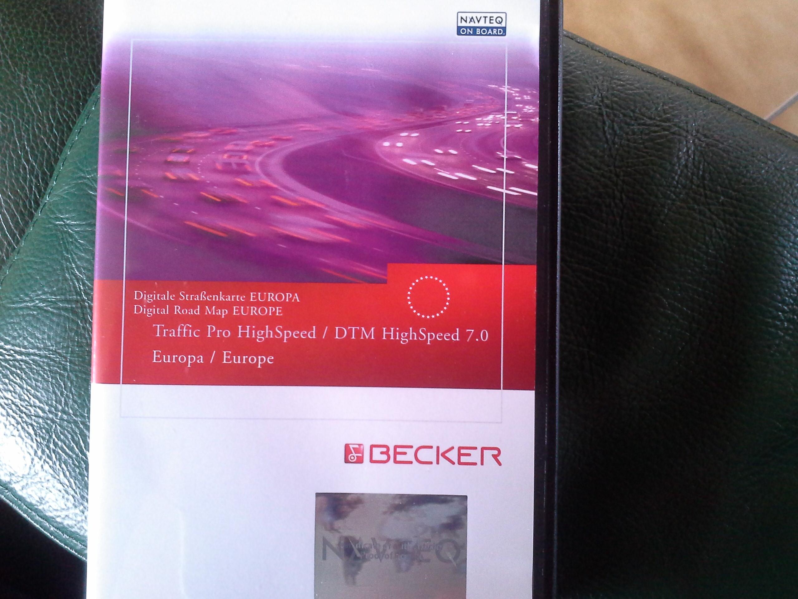 réparation et pièces autoradio BECKER - Page 5 91049420160119135738