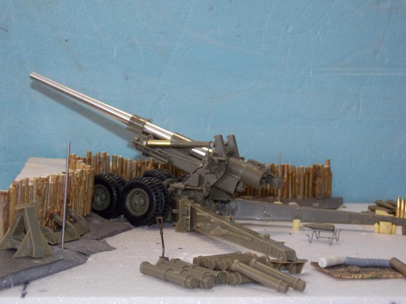 Long Tom et High Speed Tractor  1/35 (Hobby Boss -AFV/TAMIYA) 910838DSCN5178