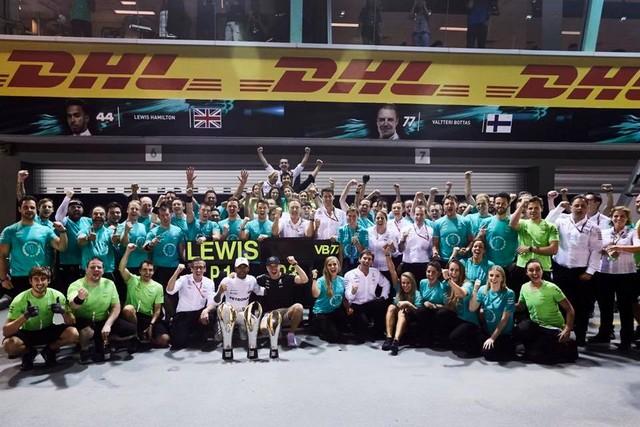 F1 GP de Singapour 2017 : Victoire Lewis Hamilton  912198131280x720