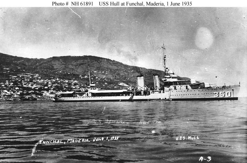 USN DESTROYERS CLASSE MAHAN 912806USSHull4
