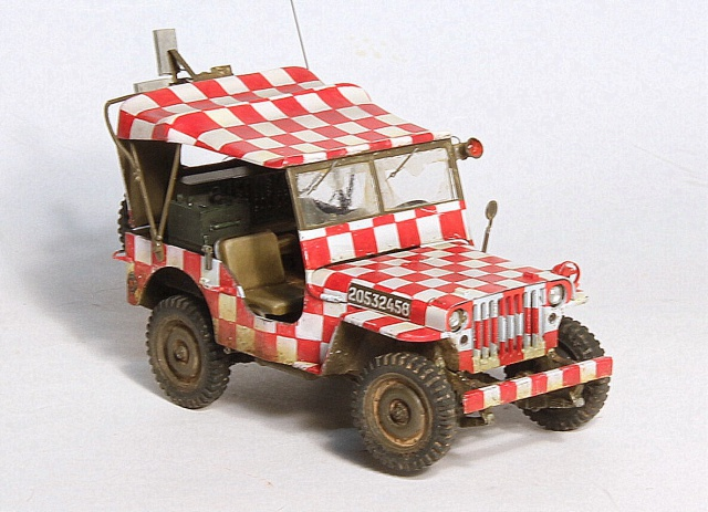 Les derniers arrivent. Jeep USAAF - Italeri 1/35 - (update du 13/10/15). 913497015