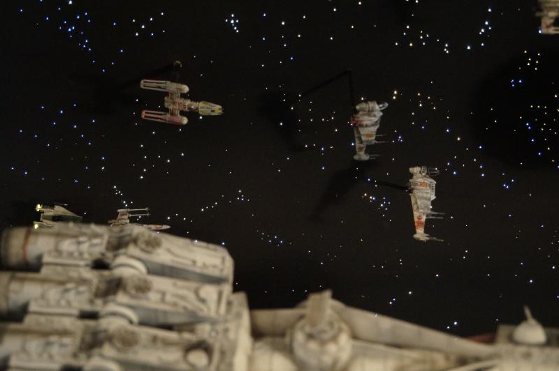 STAR WARS : Diorama Flotte rebelle - Page 4 914573DSC00800