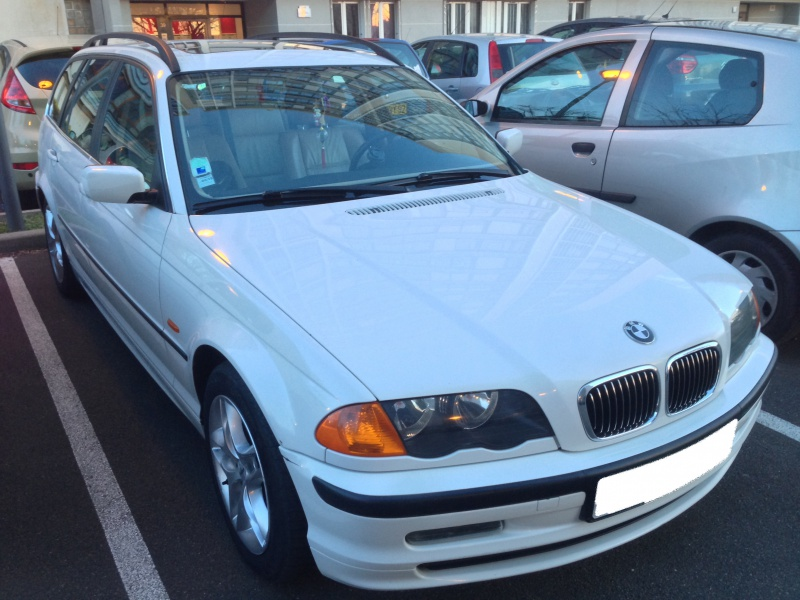Ma nouvelle acquisition une BMW 320iA Touring 916601IMG5458