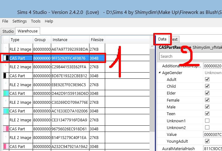 [Apprenti] Sims 4 Studio - Mettre les Palettes dans le bon ordre 919201807