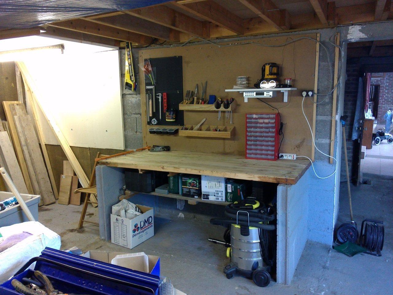 Faire d'un grand garage un atelier !  - Page 2 919709IMG20150627210500