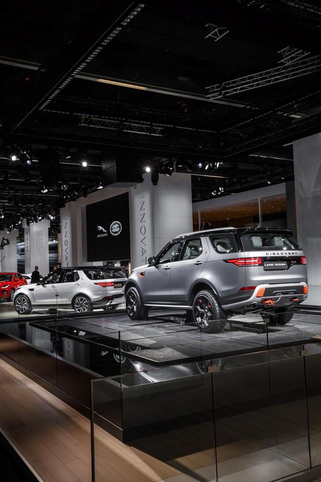 Nouveau Discovery SVX : Land Rover dévoile son champion tout-terrain au Salon de Francfort 920467jlrfrankfurt2017031
