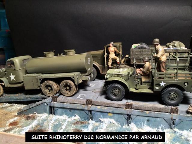 Rhinoferry D12 plage du débarquement Normandie (Hobby Boss, AFV, Italeri, 1/35) 922441rhinoferry002