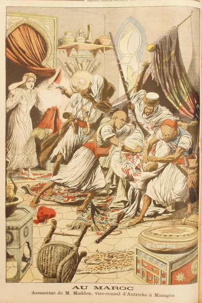 صفحات من تاريخ المغرب الحديث من خلال Le Petit journal illustré 923293pj76225061905b