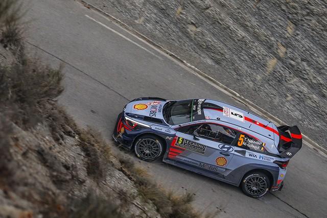 Rallye Monte Carlo Une Victoire En Power Stage pour Consoler Hyundai Motorsport  9233342017MONTECARLOSV229