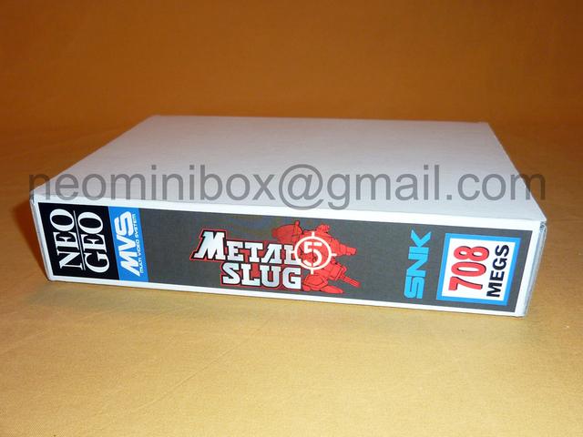 Boites en carton pour ranger les cartouches MVS 92373655224130