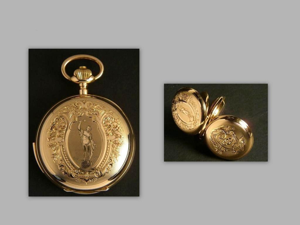 le poids de l'or dans un boitier  925905Savonnette