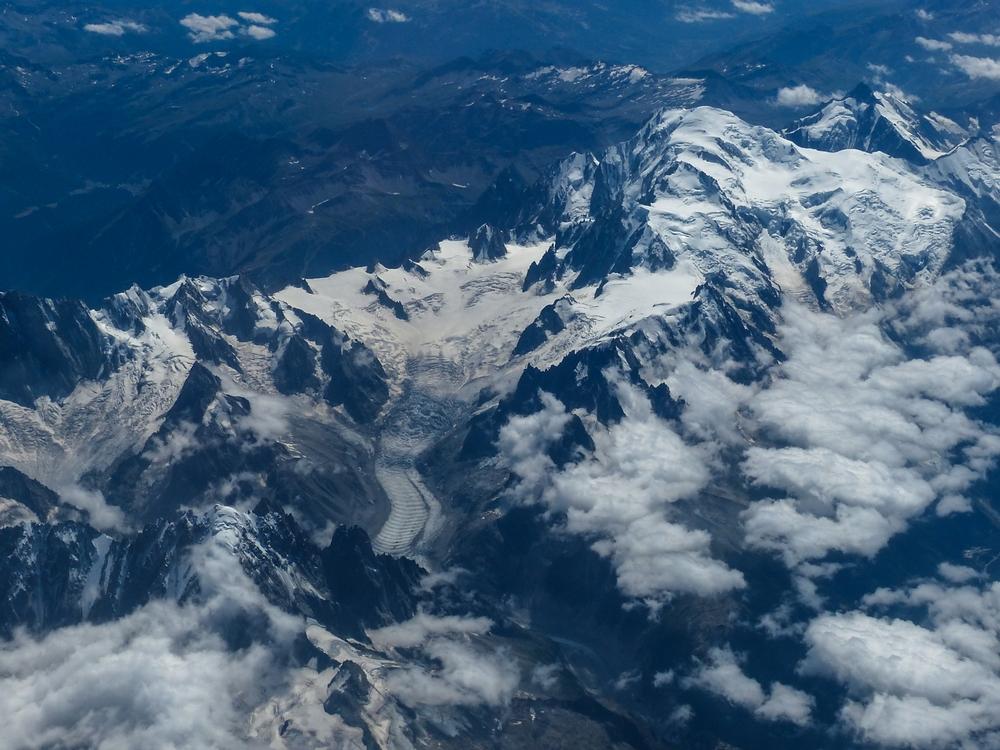 le Mont Blanc en Blanc et Noir ... 929350P132004912