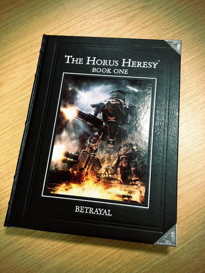"Forge World : Horus Heresy Book I ""Betrayal"" - Page 2 932254TheHorusHeresyBookIBetrayal"