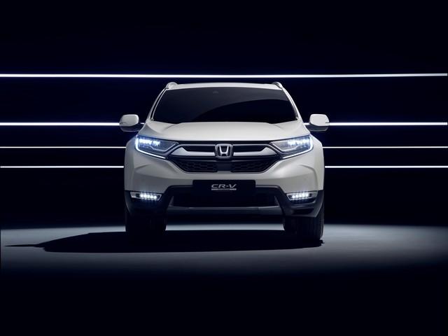 Honda dévoile le prototype du futur CR-V hybride au salon automobile de Francfort 933382113238HondatounveilCRVHybridPrototype