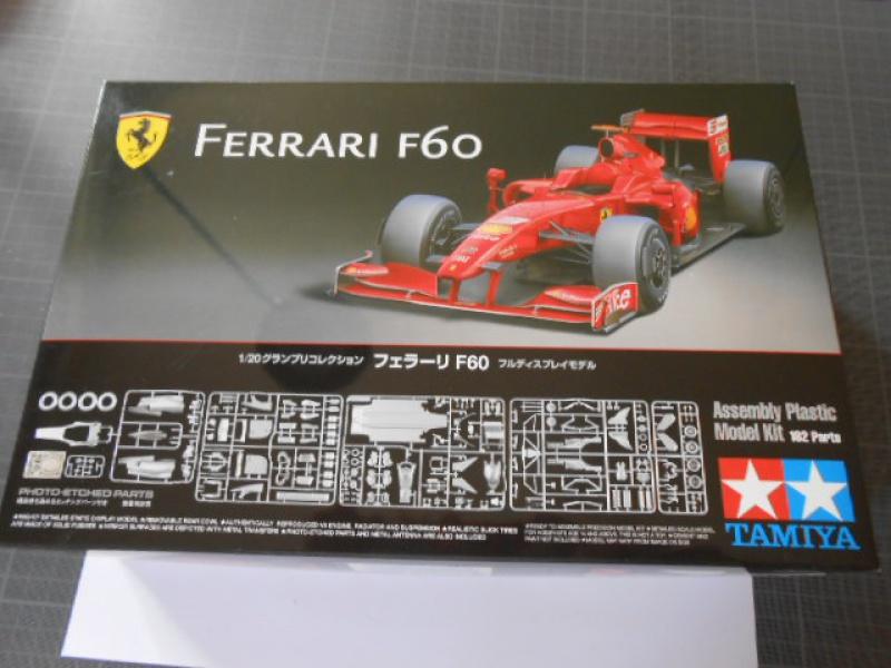 Ferrari F60 1/20 Tamiya 934993F60001
