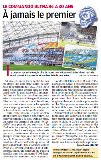 SUPPORTERS ...ALLEZ L'OM - Page 4 937664238