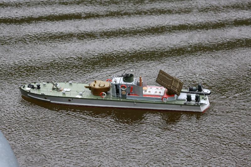 Russian gunboat Bk 1124 au 1/20e sur plan  940462083857181wi3a1507