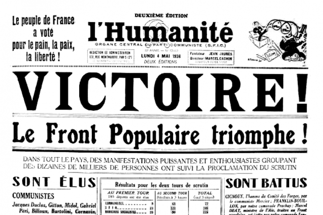 Les merdias - Page 9 944832Humanite4mai1936