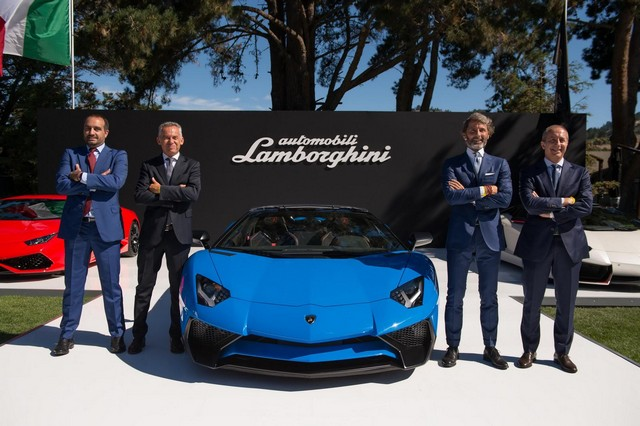 Pebble Beach 2015 : Lamborghini Aventador LP750-4 SV Roadster SuperVeloce 945263LamborghiniAventadorSVRoadster