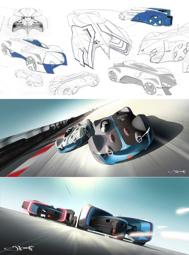 Alpine Vision Gran Turismo : bientôt sur l'écran de votre salon 9457496526016