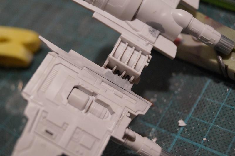"X-Wing ""Resistance"" T-70 Bandaï 1/72 945909DSC01404"