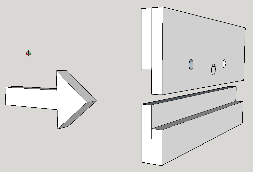 Extension des mors d'une presse : quel assemblage ? 94720920170903113322MorspresseskpSketchUpMake2016