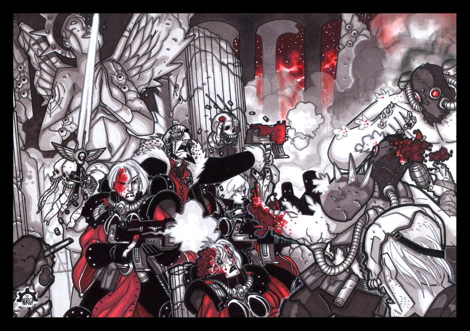 Visions of Warhammer 40K by Aerion the Faithful 947554InquisitionSymphonybyAeriontheFaithful