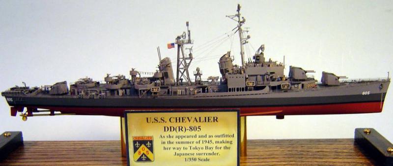"""DRAGON: USS """"Chevalier"""" DD-805 9484491289057066_dd805_01"""