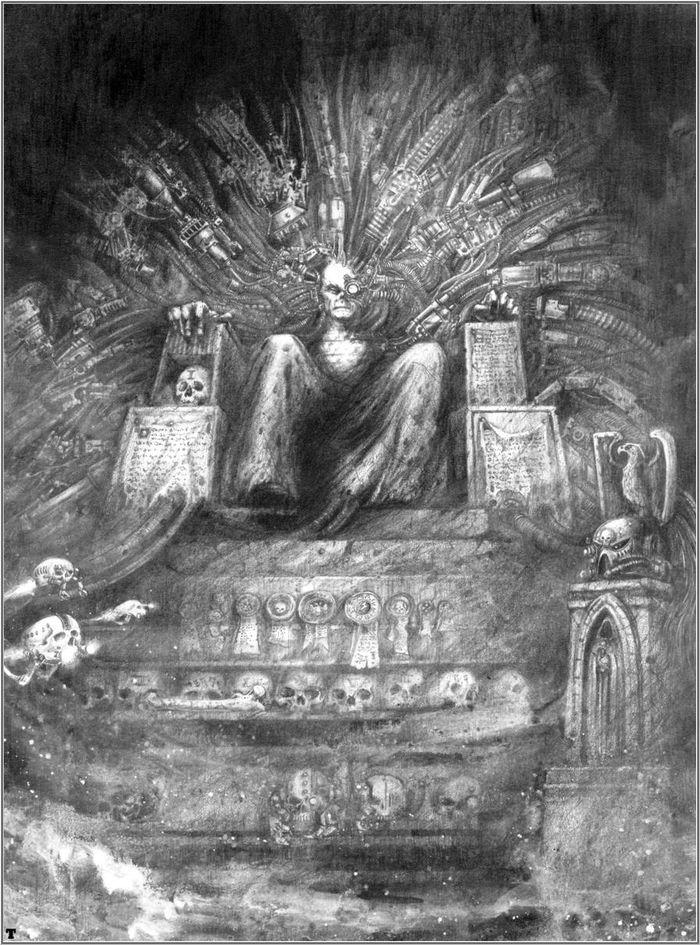 La Volonté de l'Empereur de John Blanche (Art Book) - Page 2 949008Blanche13