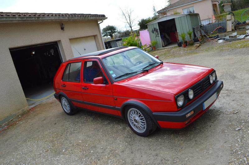 [Golf 2 GTD 1989 Rouge Tornado] Mon Nouveau Daily 949437DSC1656