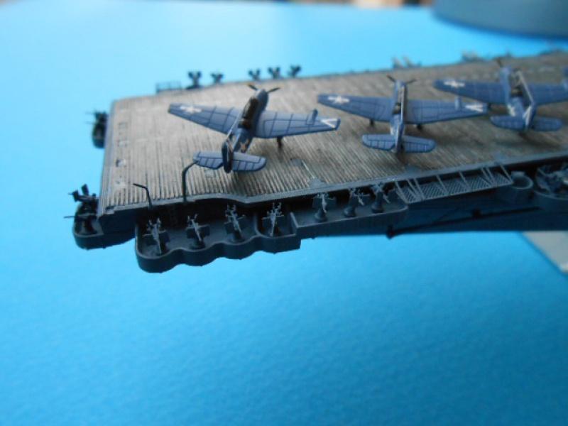 Saratoga CV3  1/700 pont en bois/ PE 949595Sarafini006