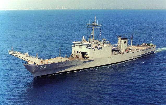 LANDING SHIP TANK (LST) CLASSE NEWPORT  950426MattosoMaiaG28