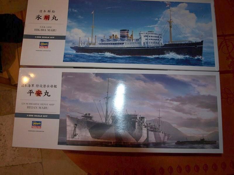 Hikawa Maru liner/ Hein maru aide logistique sous marin 950714P2034257Copier001