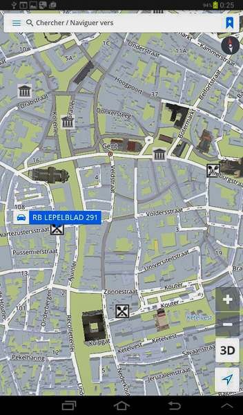 Ozi et GPS bluetooth GNS 2000 951423GandSygic