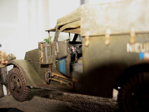 M3 Scout Car - Zvezda 1/35 954274modles31026