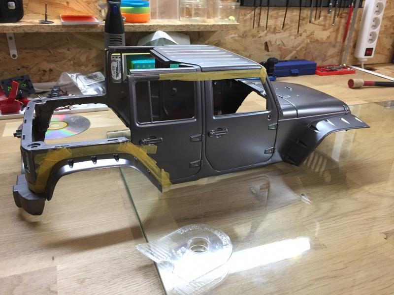 Jeep Rubicon Wraith New Bright 9555371320