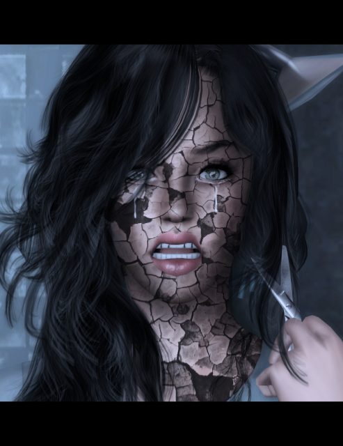 [Intermédiaire] Créer des craquelures sur la peau d'un sim 958458partofme